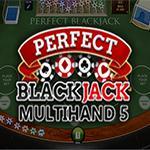 Perfect Blackjack Multihand 5